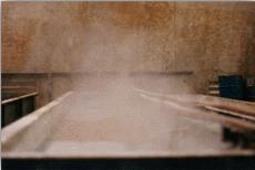 Tanque banho químico